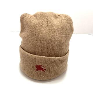 バーバリー(BURBERRY)のバーバリーズ ニット帽 - 刺繍 ウール(ニット帽/ビーニー)