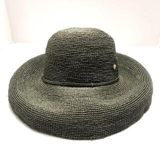 ヘレンカミンスキー(HELEN KAMINSKI)のヘレンカミンスキー 帽子 - ダークグリーン(その他)