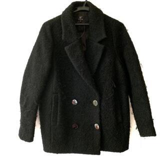 ルシェルブルー(LE CIEL BLEU)のルシェルブルー コート サイズ38 M 黒 冬物(その他)