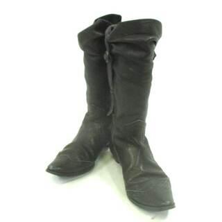 ツモリチサト(TSUMORI CHISATO)のツモリチサト ブーツ 22 レディース 黒(ブーツ)