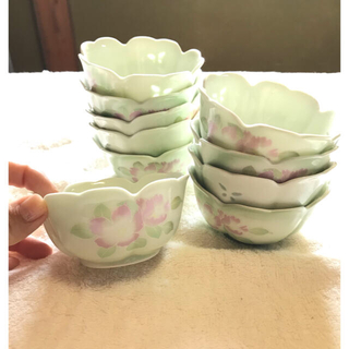 小鉢 お皿 花柄 10個セット 小皿 和柄 和食器 茶碗 (食器)