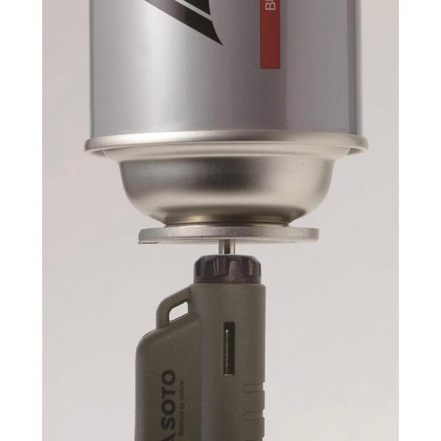新富士バーナー(シンフジパートナー)のソト 限定カラーマイクロトーチ ACTIVE(アクティブ) ST-486AG スポーツ/アウトドアのアウトドア(その他)の商品写真