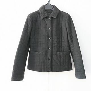 エムプルミエ(M-premier)のエムプルミエ ブルゾン サイズ36 S 黒 冬物(ブルゾン)
