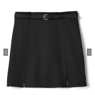 グレイル(GRL)の【GRL】インパン付きベルト付き台形スカート(ミニスカート)