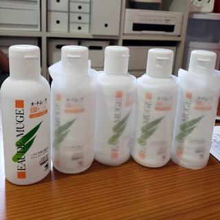 コバヤシセイヤク(小林製薬)のオードムーゲふきとり化粧水 新品4本 9割1本 合計5本(化粧水/ローション)