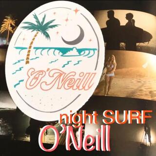 オニール(O'NEILL)のO'NEILLオニールUS限定star waveオーバルロゴ ステッカー ラス1(サーフィン)