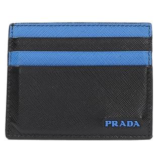 プラダ(PRADA)のプラダ PRADA サフィアーノアクティブカードケース カードケース 【中古】(名刺入れ/定期入れ)
