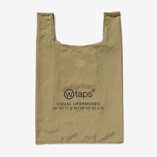 ダブルタップス(W)taps)のCONVENI / BAG / NYLON  エコバッグ ベージュ(エコバッグ)