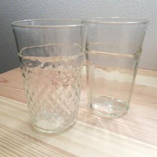 ヤエカ(YAECA)のくるみガラスコップ 【新品 未使用】(グラス/カップ)