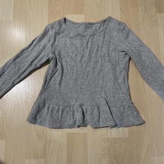 ユニクロ(UNIQLO)のユニクロ クルーネックT ペプラム(Tシャツ/カットソー)