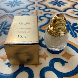 ディオール(Dior)のdior 2020 クリスマス ネイル グリッター トップコート(ネイルトップコート/ベースコート)