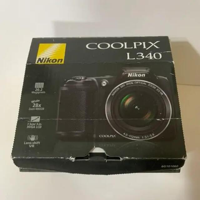 Nikon(ニコン)の美品 Nikon ニコン デジタルカメラ coolpix クールピクス L340 スマホ/家電/カメラのカメラ(コンパクトデジタルカメラ)の商品写真