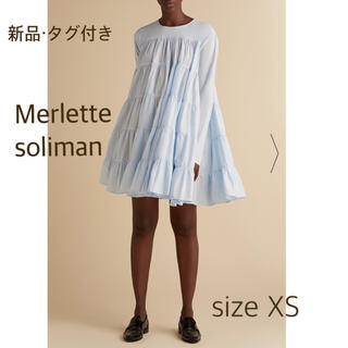 トゥモローランド(TOMORROWLAND)の【新品】Merlette soliman ワンピース(ミニワンピース)