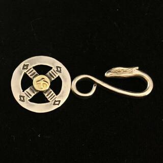 ゴローズ(goro's)の送料無料 大特価 ゴローズ 金付きホイール イーグルフック 2個セット(ネックレス)