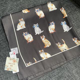 ユニクロ(UNIQLO)のポール&ジョーUNIQLO猫ストール(バンダナ/スカーフ)