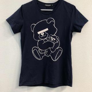 アンダーカバー(UNDERCOVER)のUNDER COVER NEU BEAR Tシャツ ネイビー(Tシャツ(半袖/袖なし))