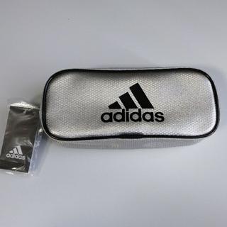 アディダス(adidas)のアディダス adidas ペンケース 筆入れ シルバー 男の子(ペンケース/筆箱)