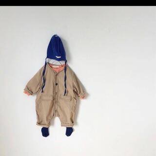 韓国子供服 ロンパース サロペット 80 モンミミ フタフタ futa futa(ロンパース)