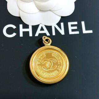 シャネル(CHANEL)の専用 シャネル ペンダント ココマーク カンボン 金 ゴールド 丸 ネックレス(ネックレス)
