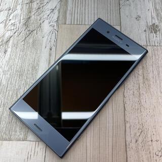 エクスペリア(Xperia)のSONY Xperia XZ1 701SO ムーンリットブルー(スマートフォン本体)