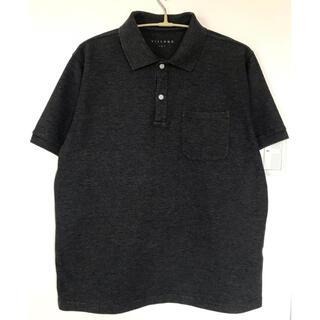 シマムラ(しまむら)の【しまむら】半袖ポロシャツ メンズL チャコール(ポロシャツ)