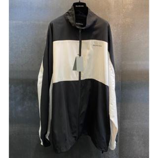 Balenciaga - Balenciaga ジップアップジャケット ブラック&ホワイト 48