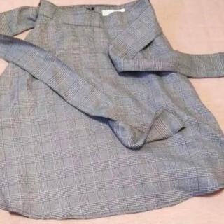 セシルマクビー(CECIL McBEE)のセシルマクビー CECIL McBEE チェックスカート(ひざ丈スカート)