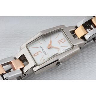 ミッシェルクラン(MICHEL KLEIN)のMICHEL KLEIN ミッMICシェルクラン 稼働品 コンビ(N04284)(腕時計)