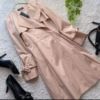 JUSGLITTY - ジャスグリッティー タグ付き スプリング コート ピンク 春物 S トレンチ