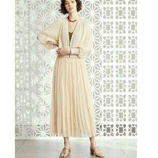 リリーブラウン(Lily Brown)のリリーブラウン☆ジャガードプリーツスカート2点セット☆ロングスカート(ロングスカート)