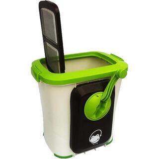 生ゴミ処理機 自然にカエル 基本セット手動式(生ごみ処理機)