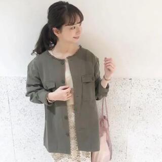 フラワー(flower)の専用になります⭐︎カラーファティーグシャツ Flower  ミリタリージャケット(ミリタリージャケット)