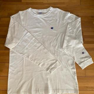 XLARGE - XLARGE×Champion 長袖Tシャツ 白 メンズ