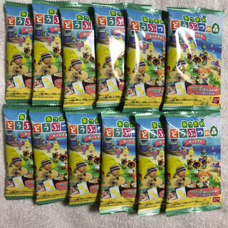 フルタセイカ(フルタ製菓)のどうぶつの森 カードグミ12個(菓子/デザート)