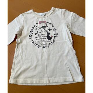 サンカンシオン(3can4on)の3can4on110cmシャツ ロンT(Tシャツ/カットソー)