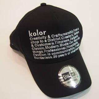 カラー(kolor)のkolor SPECIAL NEW ERA BASEBALL CAP(キャップ)