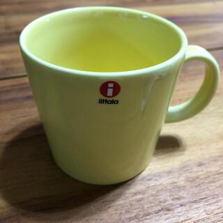 イッタラ(iittala)のiittala マグカップ イエロー(グラス/カップ)