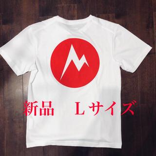 マーモット(MARMOT)のマーモット バックプリントtシャツ 正規品 Lサイズ 新品未使用タグ付(Tシャツ/カットソー(半袖/袖なし))