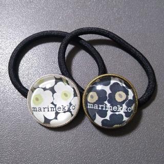 マリメッコ(marimekko)のヘアゴム 2コセット(ヘアアクセサリー)