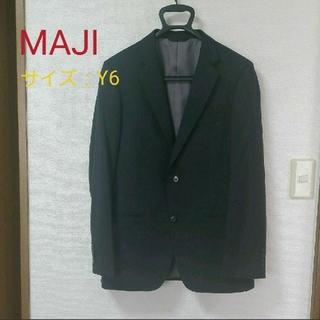 アオキ(AOKI)の【値下げ】スーツ 上 ストライプ メンズ AOKI(スーツジャケット)