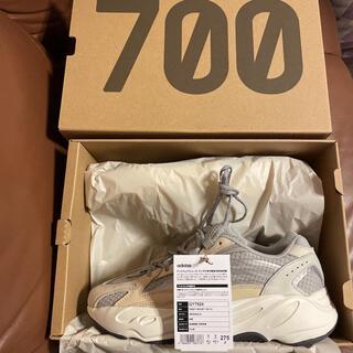 アディダス(adidas)のEEZYBOOST 700v2 値段交渉あり! 新品未使用(スニーカー)