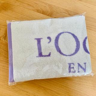 ロクシタン(L'OCCITANE)のロクシタン 非売品バスタオル(タオル/バス用品)