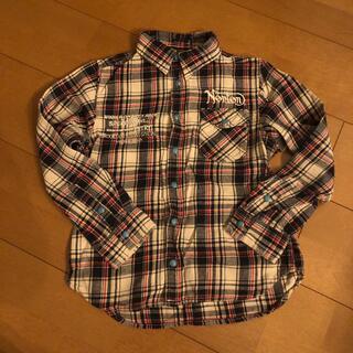 美品✨Norton チェックシャツ130センチ