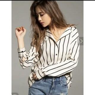 リゼクシー(RESEXXY)のresexxy stripe shirts(シャツ/ブラウス(長袖/七分))