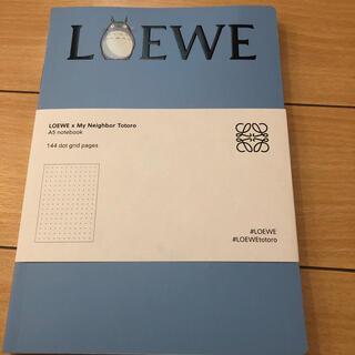 ロエベ(LOEWE)のLOEWE ロエベ トトロ ノベルティ ノート ブルー(ノベルティグッズ)
