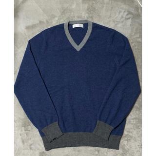 ブルネロクチネリ(BRUNELLO CUCINELLI)の美品  クチネリ 極上カシミヤ100%(ニット/セーター)