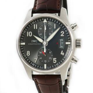 インターナショナルウォッチカンパニー(IWC)のIWC  スピットファイア クロノ IW387802 自動巻き メンズ(腕時計(アナログ))