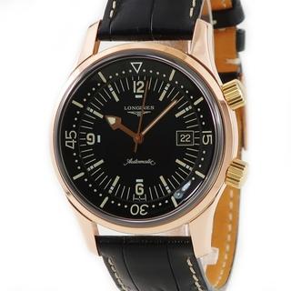 ロンジン(LONGINES)のロンジン  レジェンドダイバー  L3.674.8.50.0 自動巻き(腕時計(アナログ))