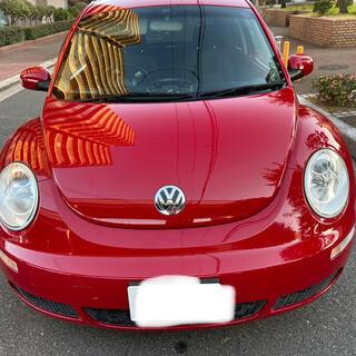 フォルクスワーゲン(Volkswagen)の売却完了致しました ありがとうございました ニュービートルEZ 内装同色ペイント(車体)