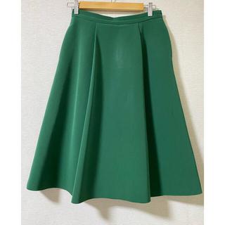 エムプルミエ(M-premier)のエムプルミエ スカート 38 グリーン(ロングスカート)